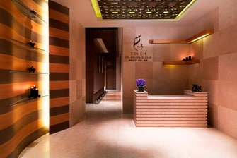 Touch Spa Reception Desk