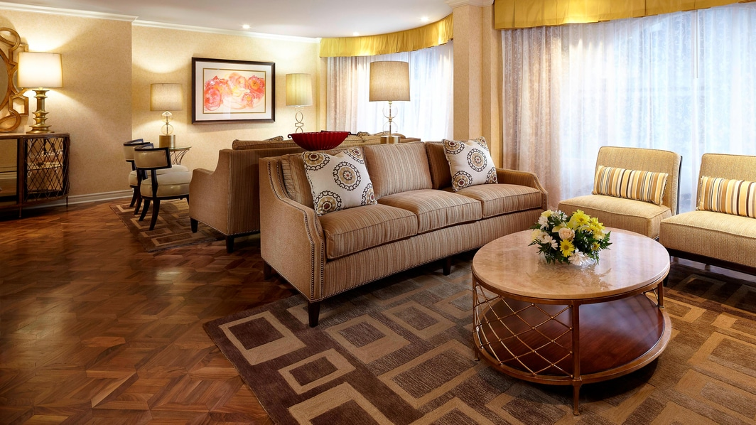 Hospitality Suite Living Room
