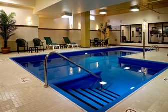 Montreal airport hotel with pool