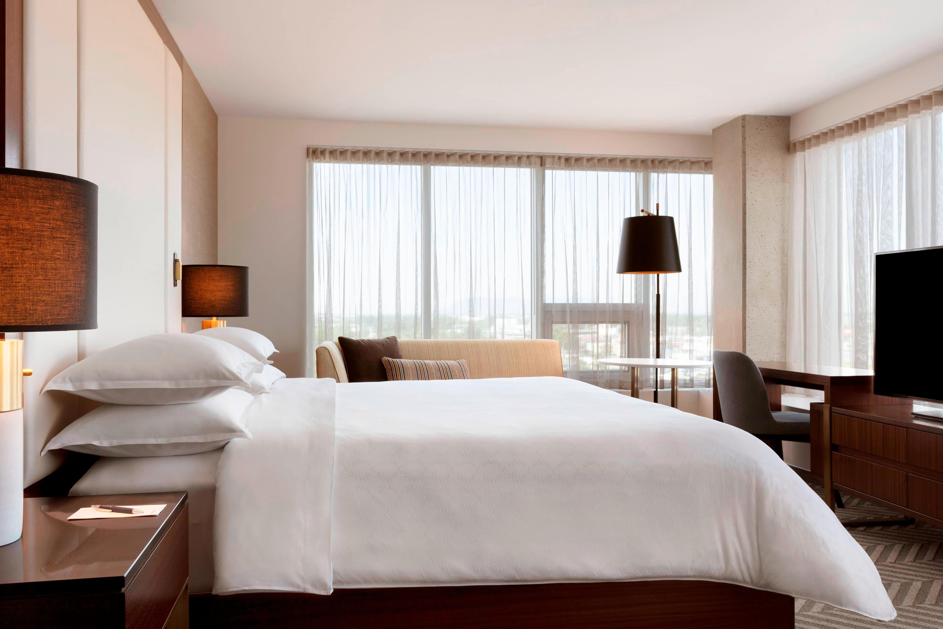Chambre d'angle avec lit king size