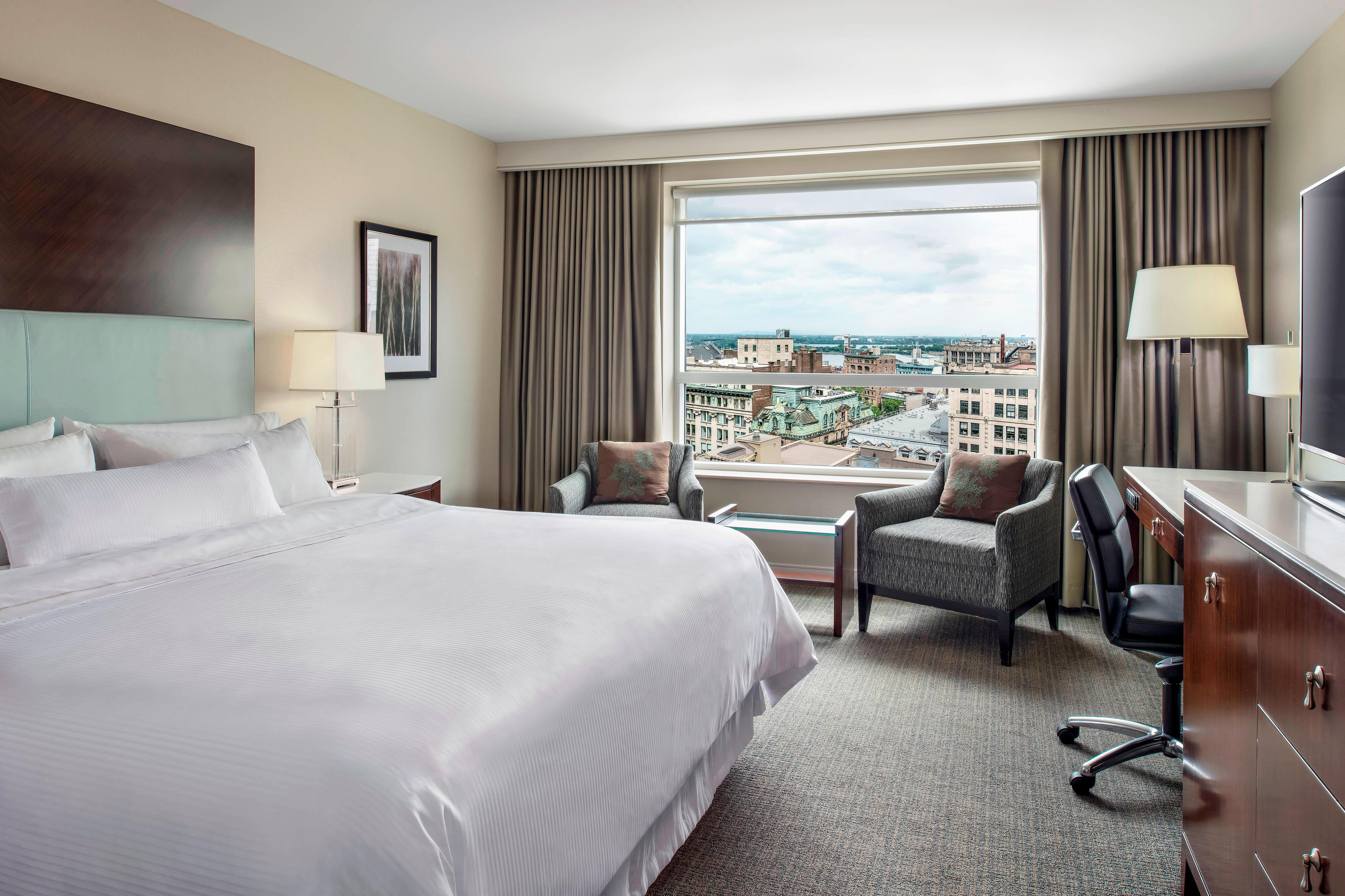 King Traditional City View Guest Room
