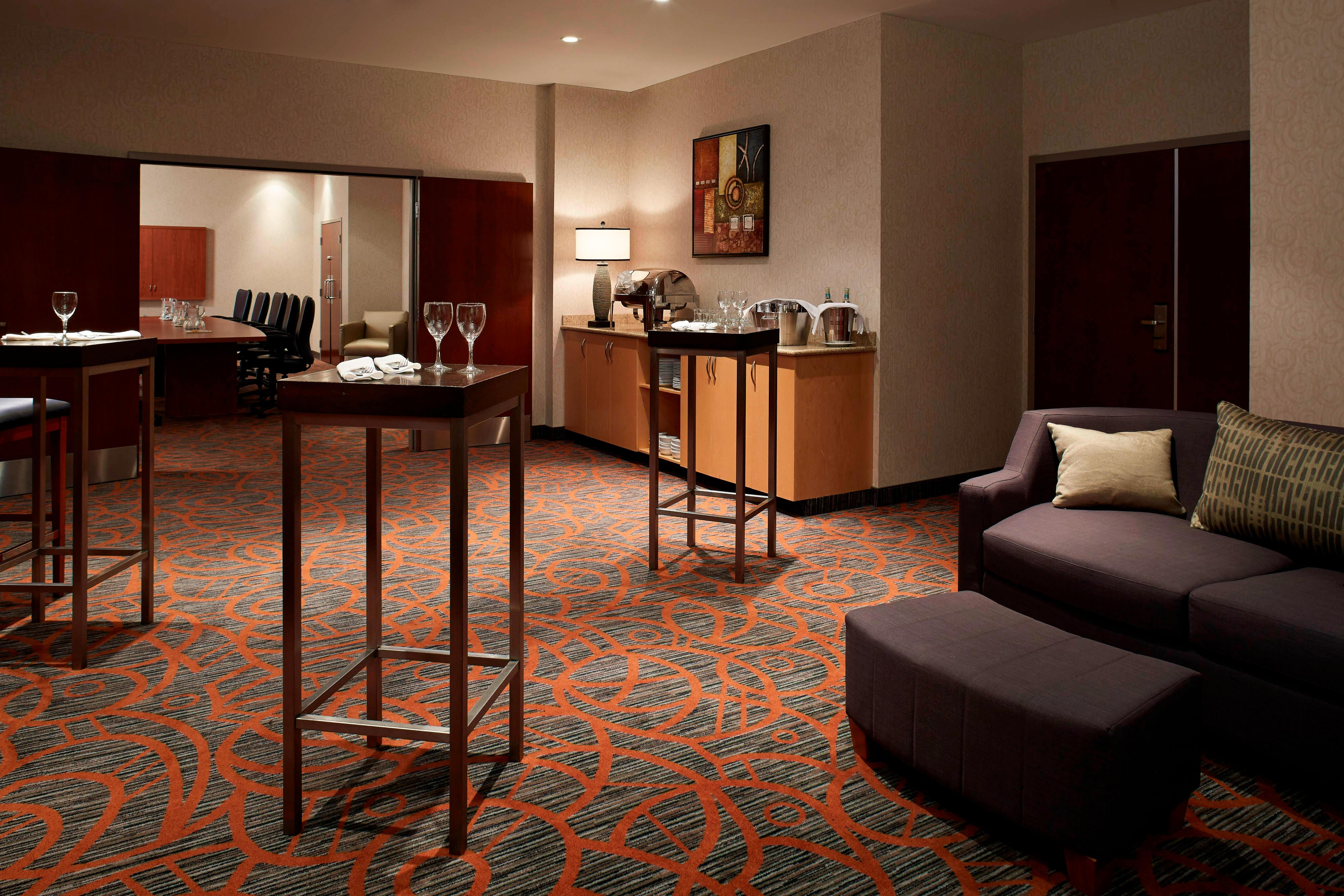 Hospitality suite in Montreal