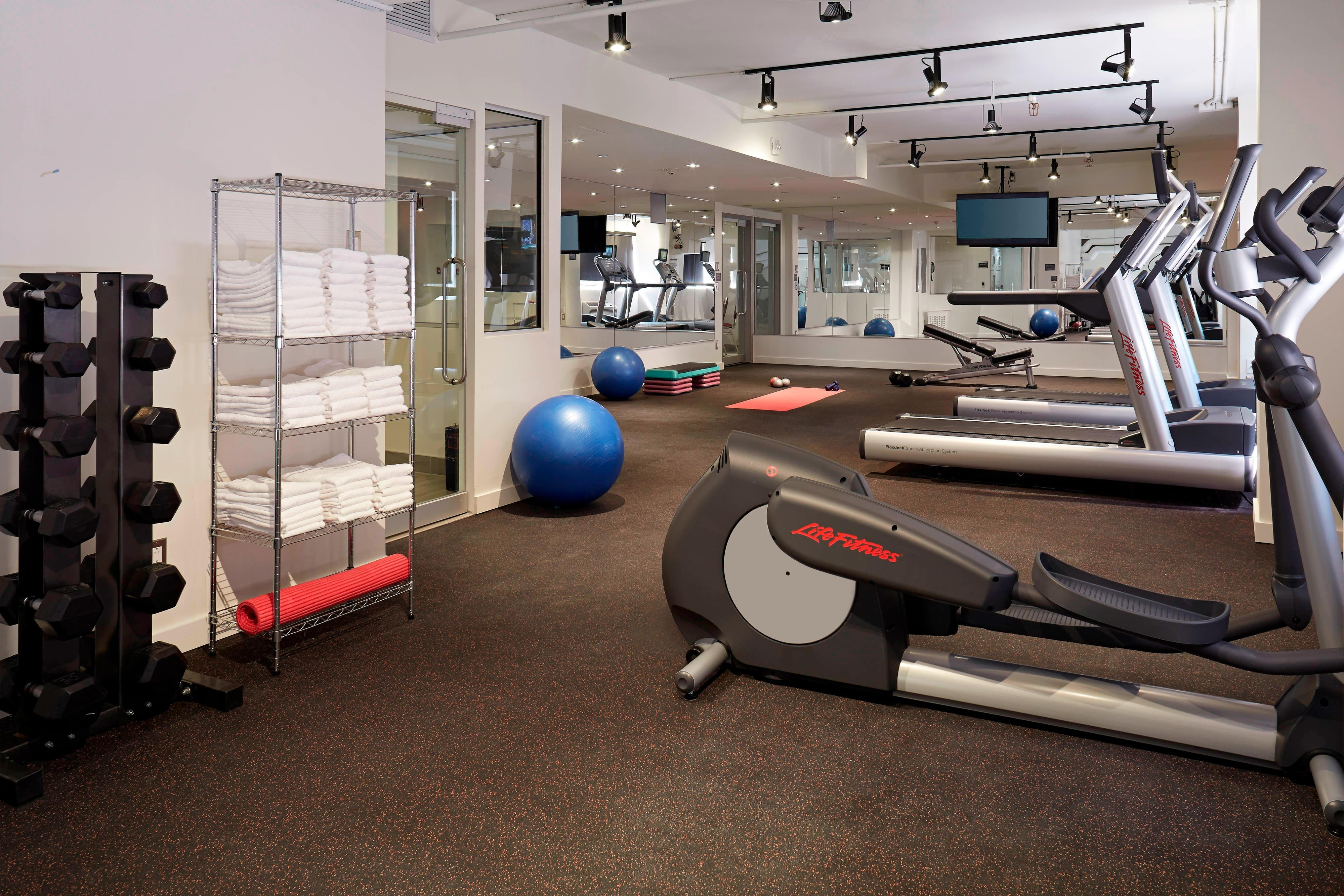 Fitness Centre Montreal Hotel