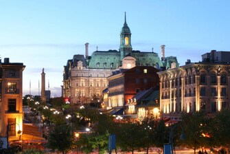 Montreal hotel near Place Jacques-Cartier