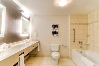 Superior Suite guest bathroom