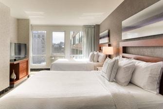Suites d'hôtel près du Centre Bell