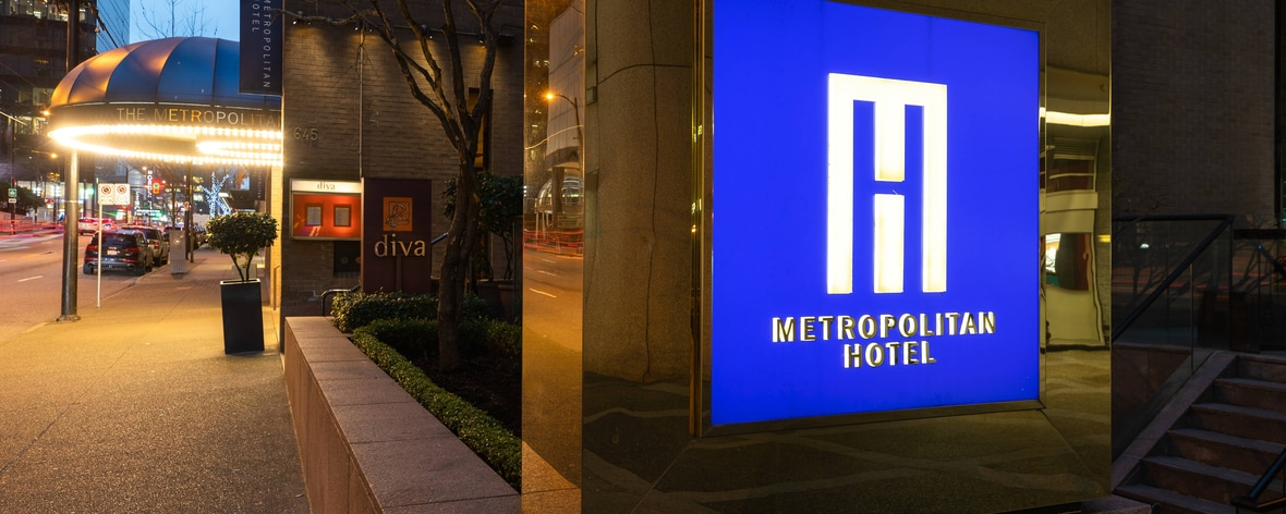 Hotel in Vancouver, BC - Downtown Vancouver Hotel | Metropolitan