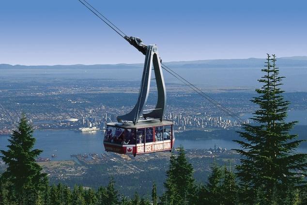 Grouse Mountain Gondola Vancouver