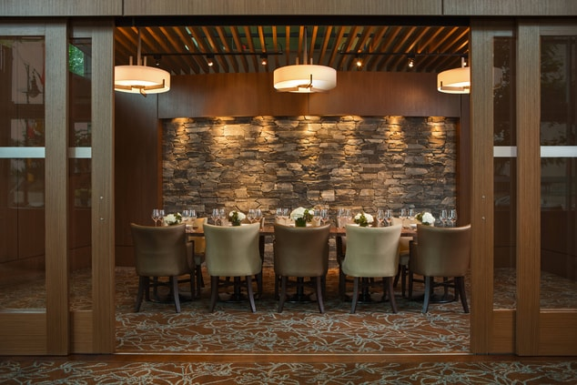 Vancouver hotel private dining room