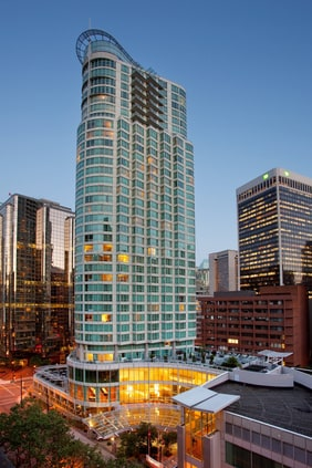 Vancouver Downtown hotel exterior