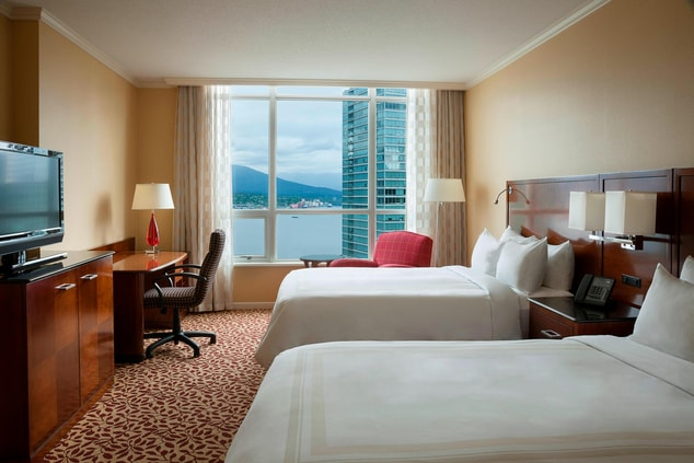 Vancouver waterfront hotel with view