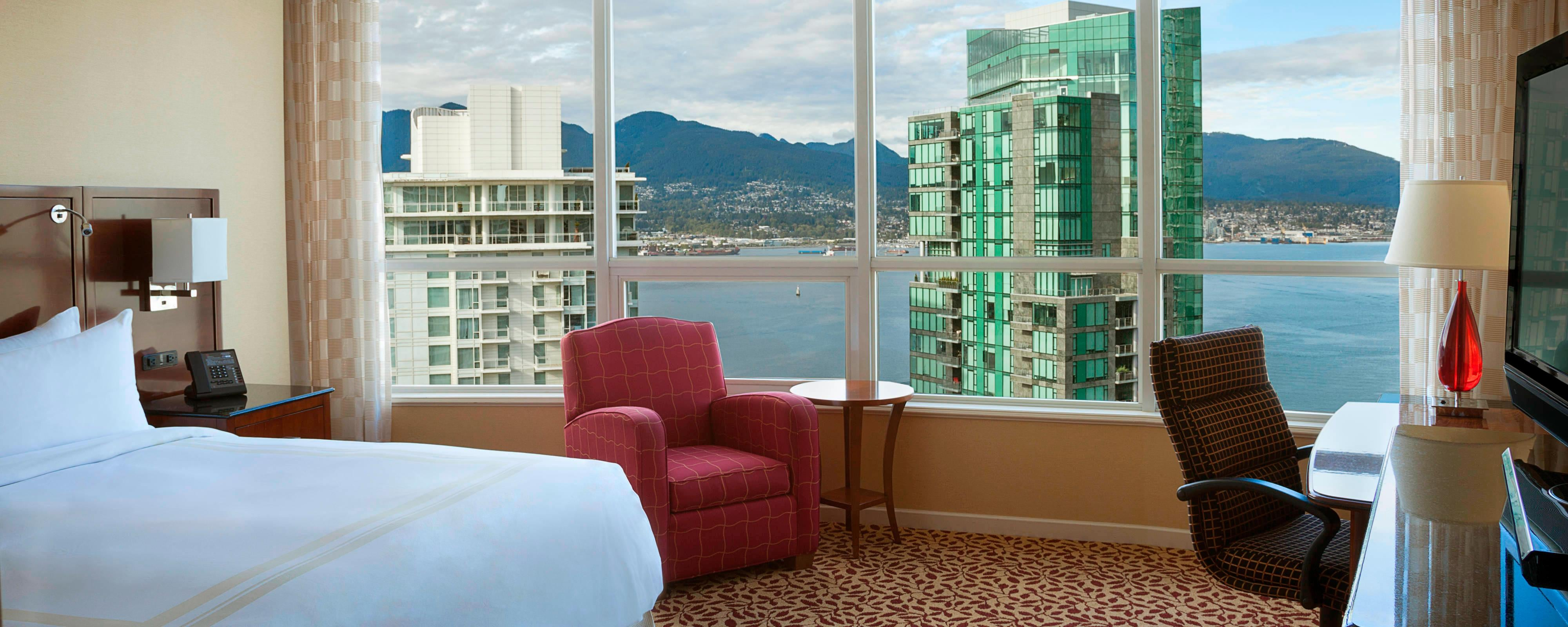 Downtown Vancouver, BC Hotel | Vancouver Marriott Pinnacle