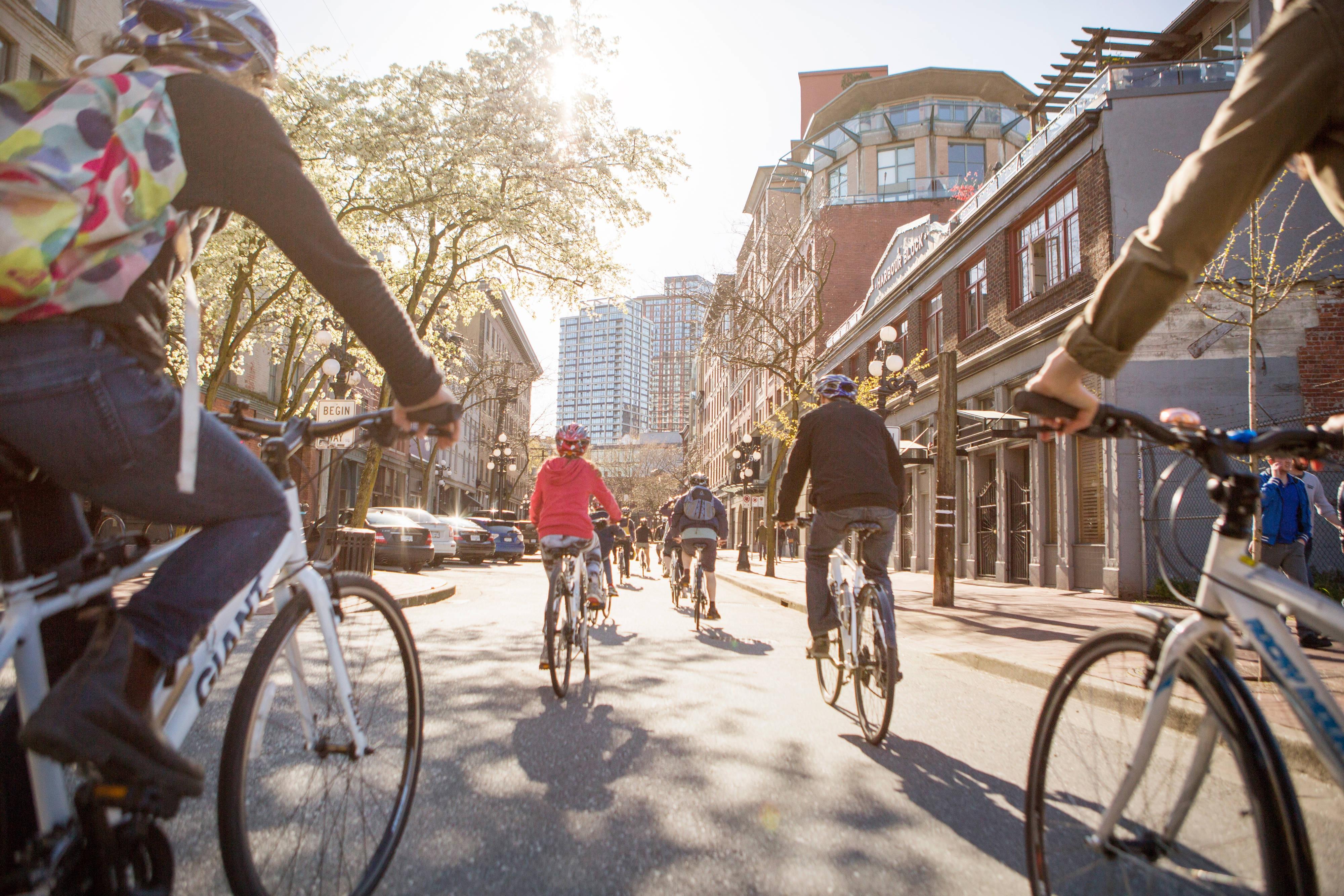 Vancouver à vélo