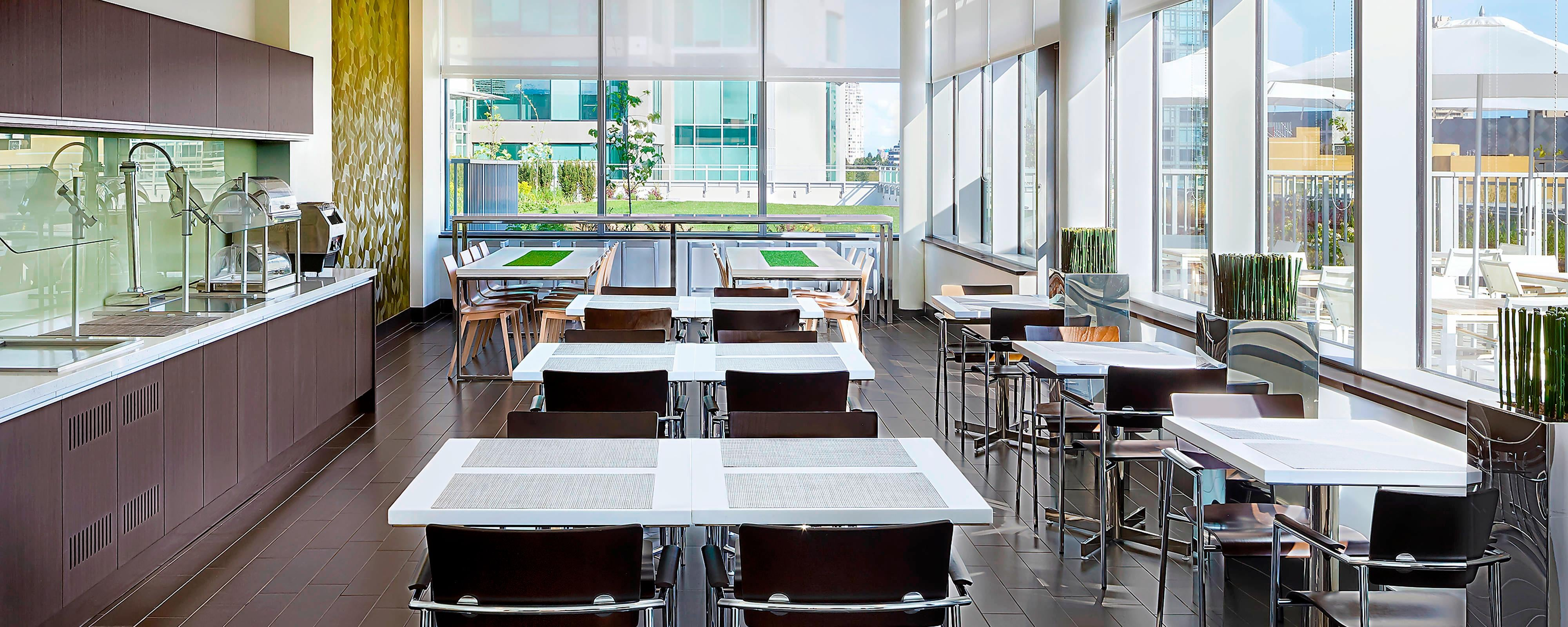 Hotel Dining Restaurants Element Vancouver Metrotown