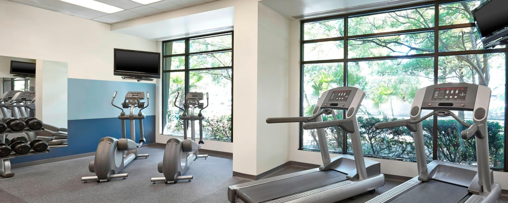 Fitness Room Open 24 Hours