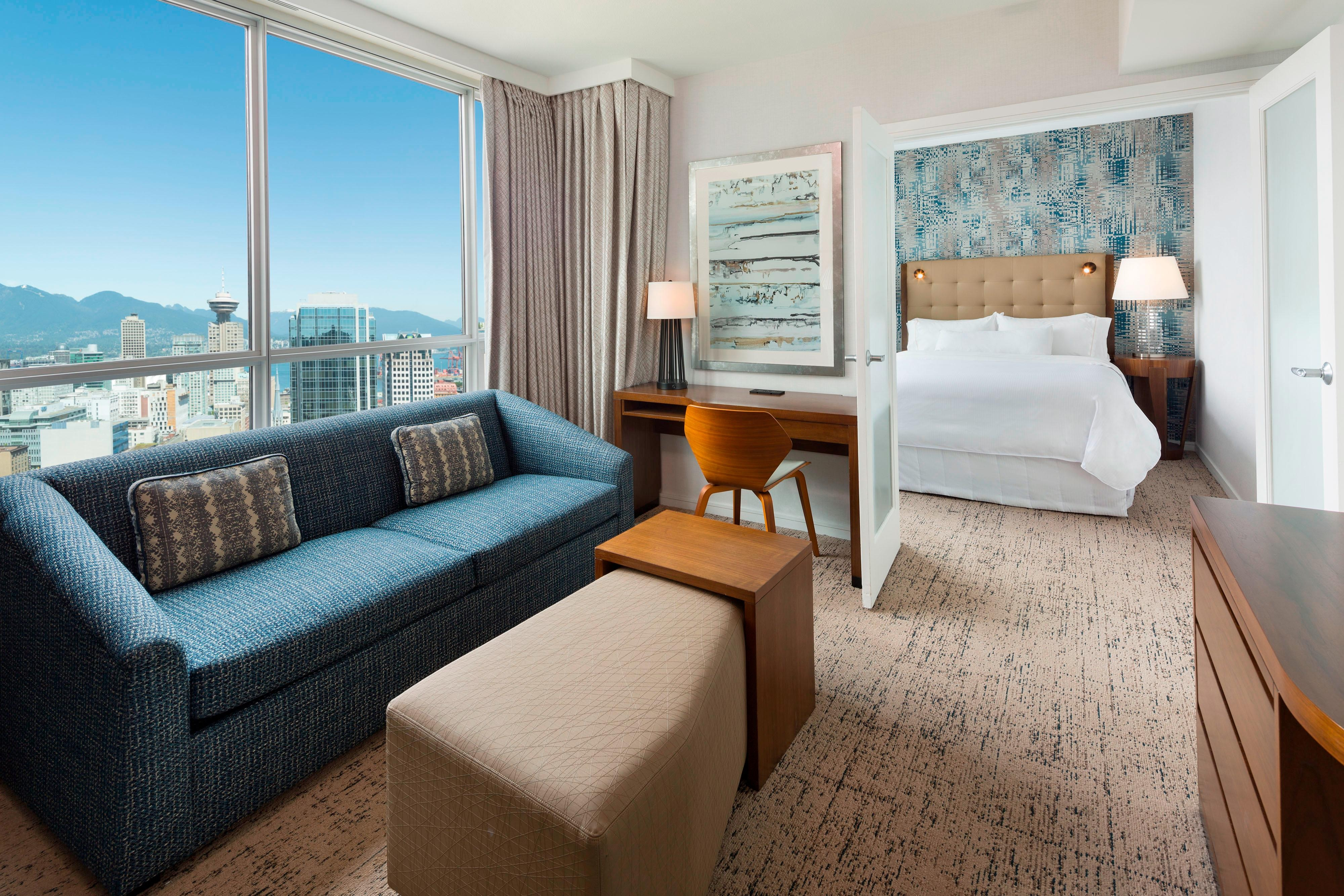 Premier Suite with Partial Mountain View