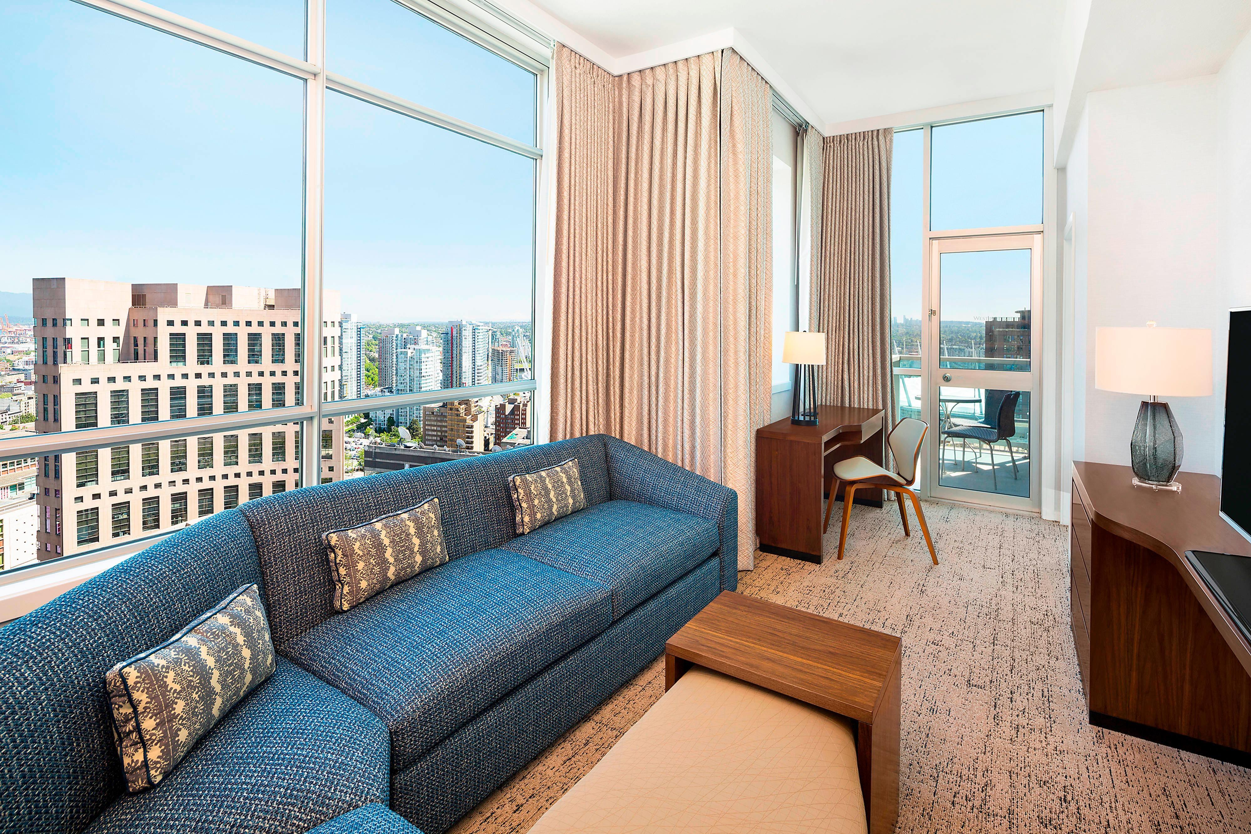 Suite Premium con balcone con vista