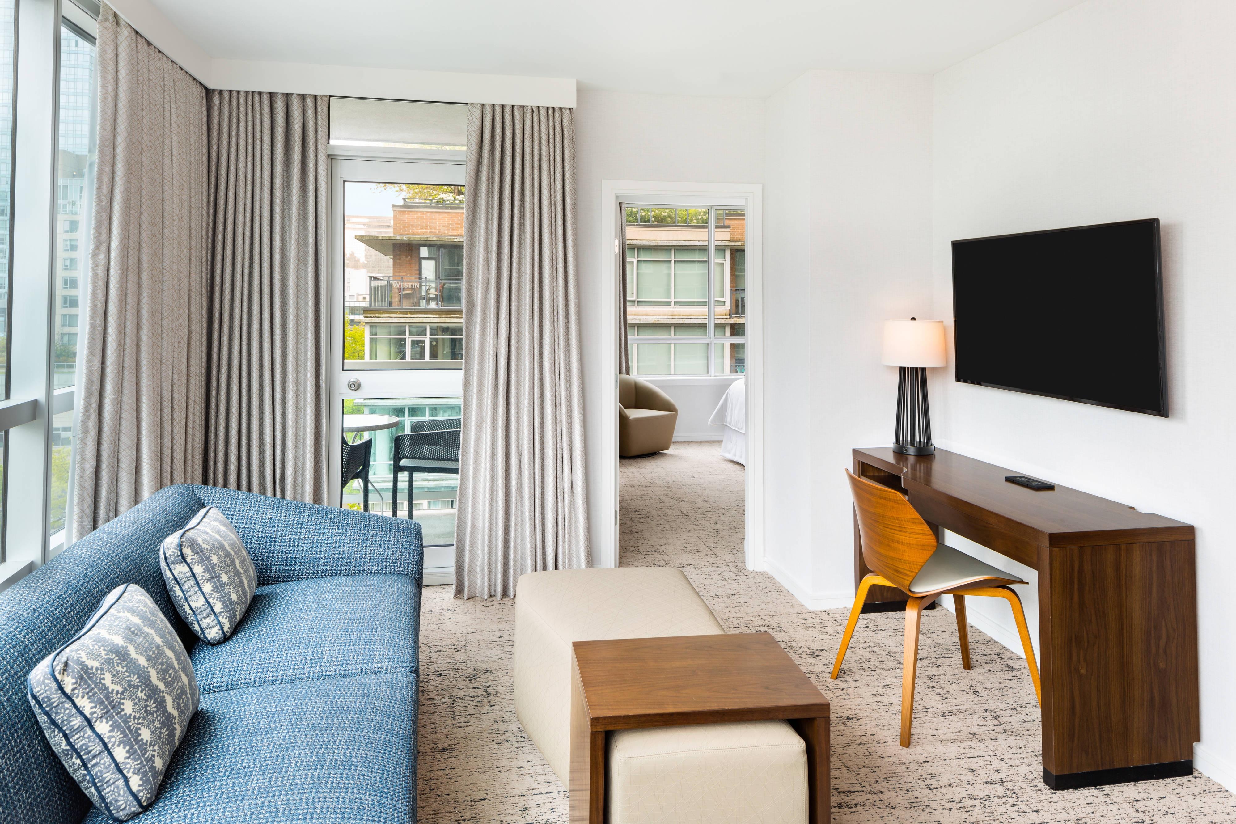 Suite con balcone - Soggiorno