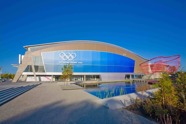 Richmond Olympic Oval hotels