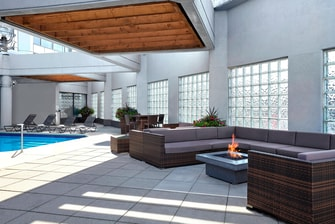 Fire Pit Outdoor Pool