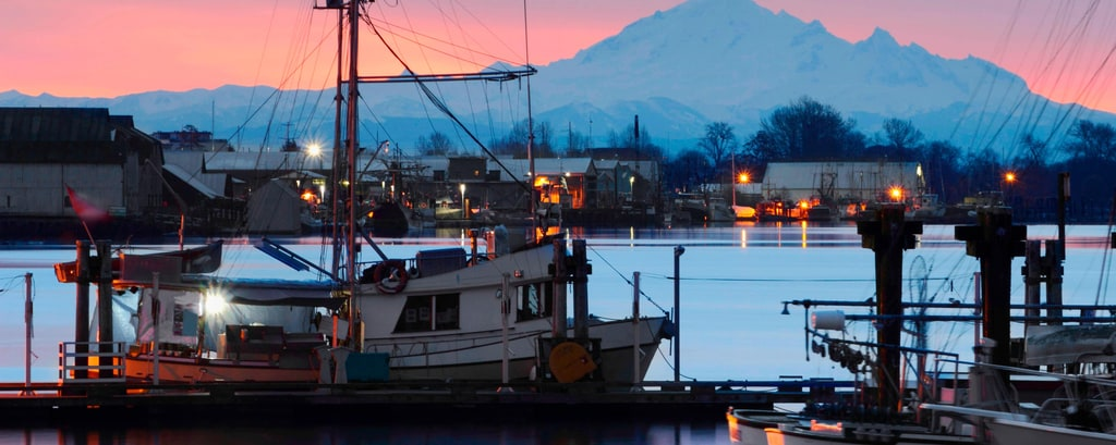 Dockside Morning Steveston Wharf