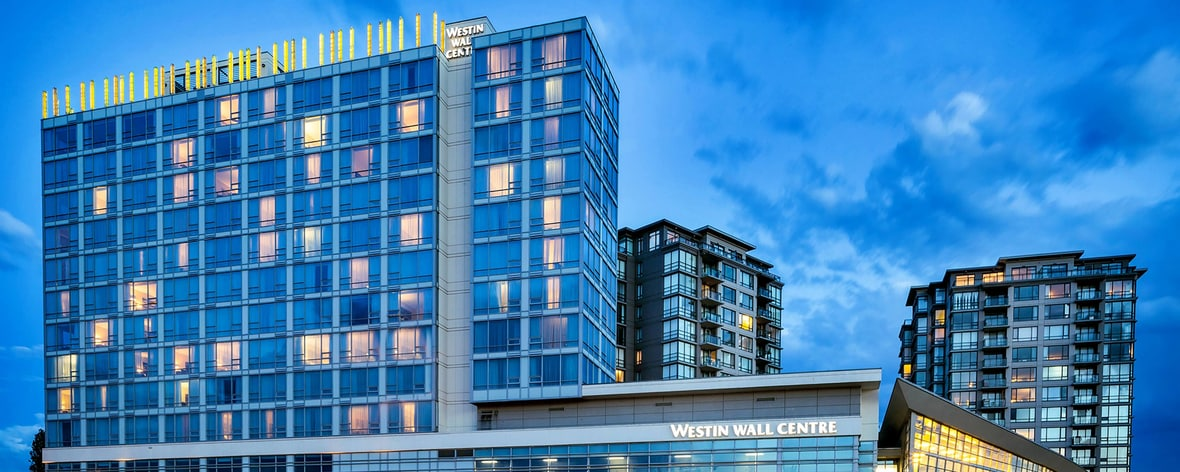 The westin wall centre vancouver airport richmond spg for Exterior alternatives richmond va