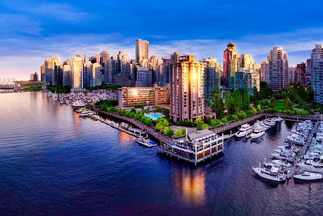 The Westin Bayshore Vancouver Exterior