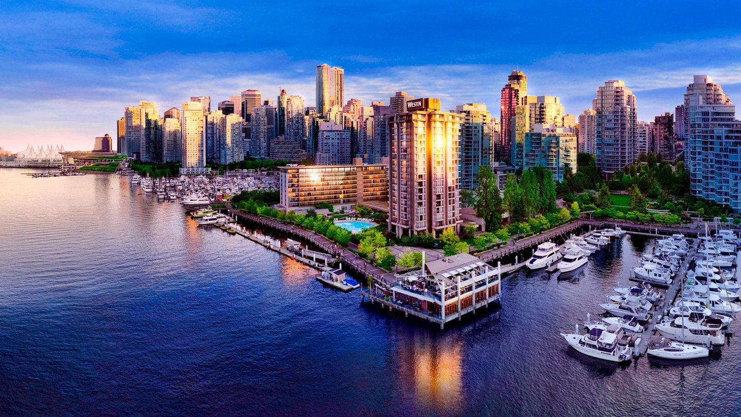 Waterfront Hotel in Vancouver | The Westin Bayshore, Vancouver