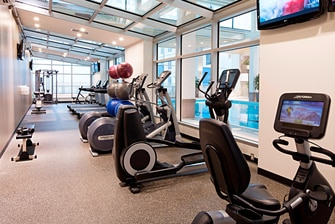 Odyssey Health Club - Exercise Area