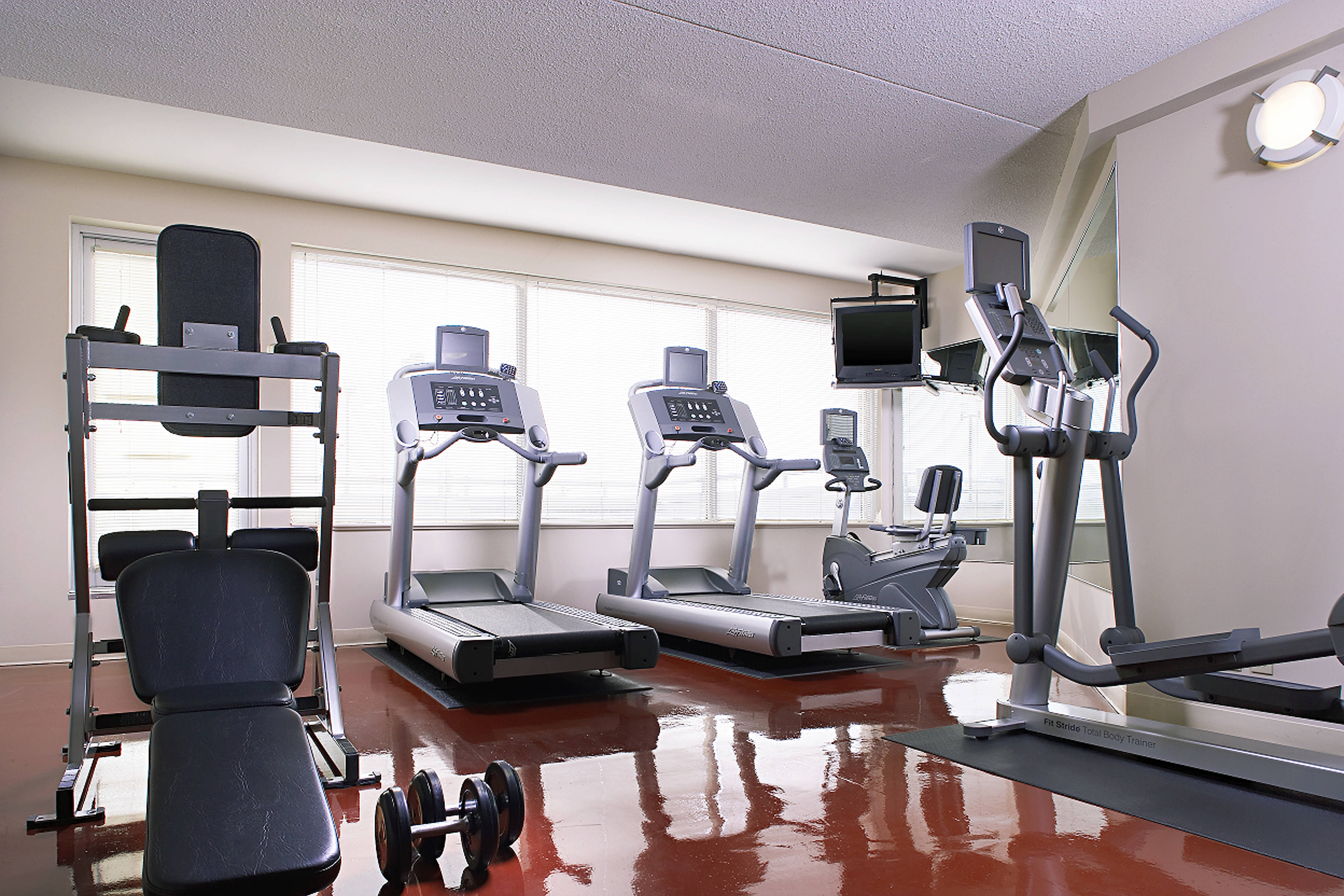New Expanded Fitness Area