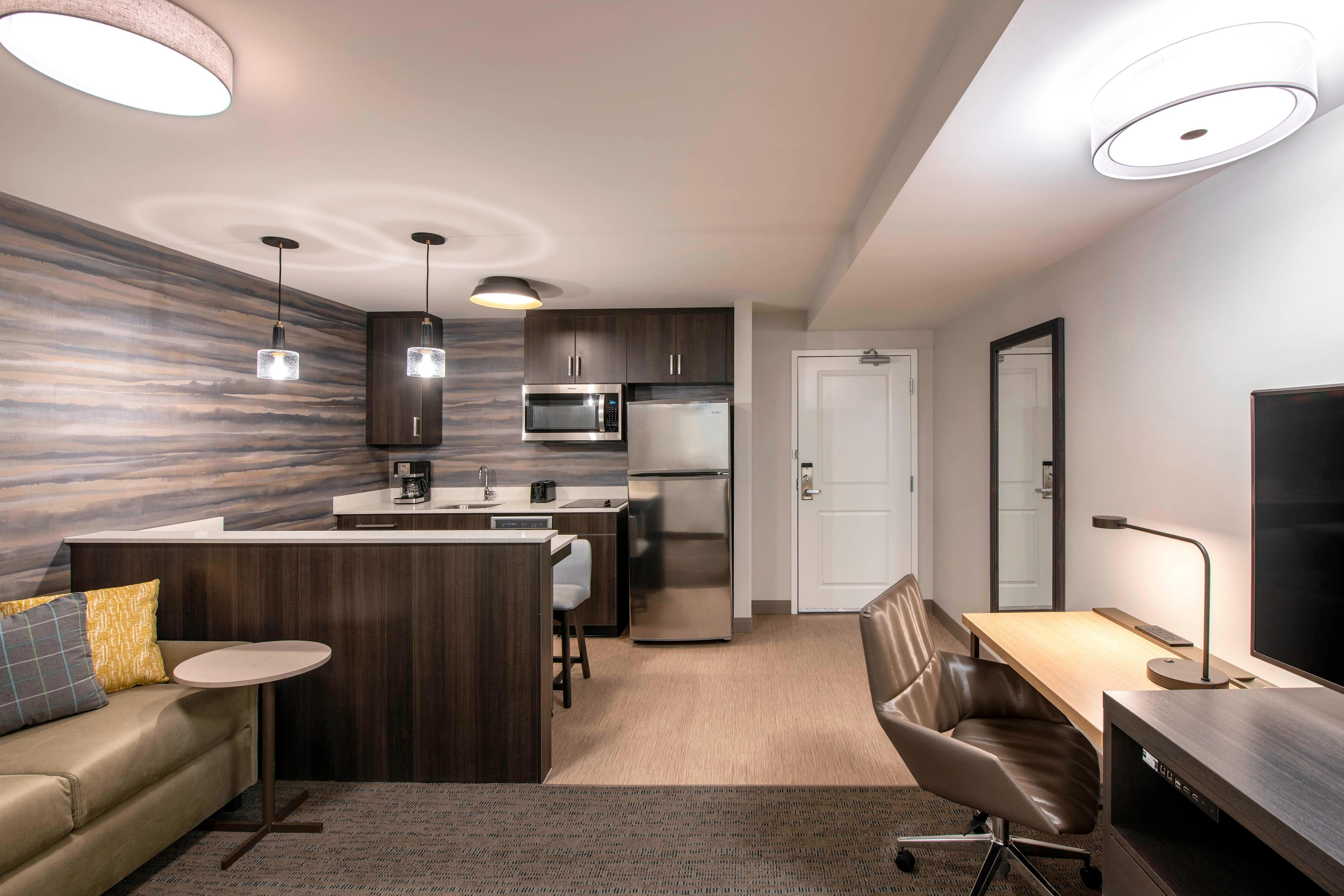 Junior Suite Living Area and Kitchenette