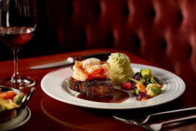 Carver s Steakhouse Food