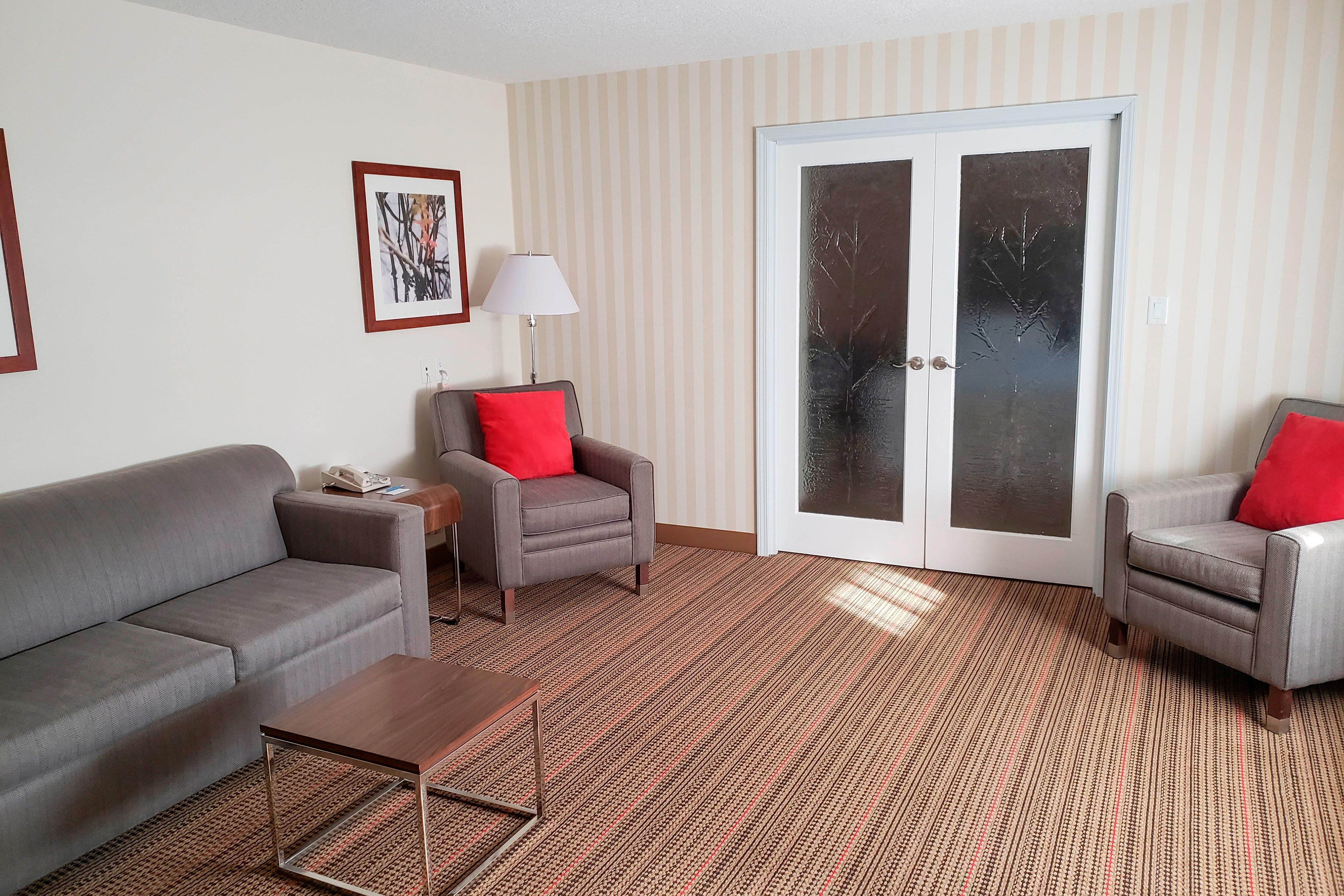 Executive Suite - Sitting Area