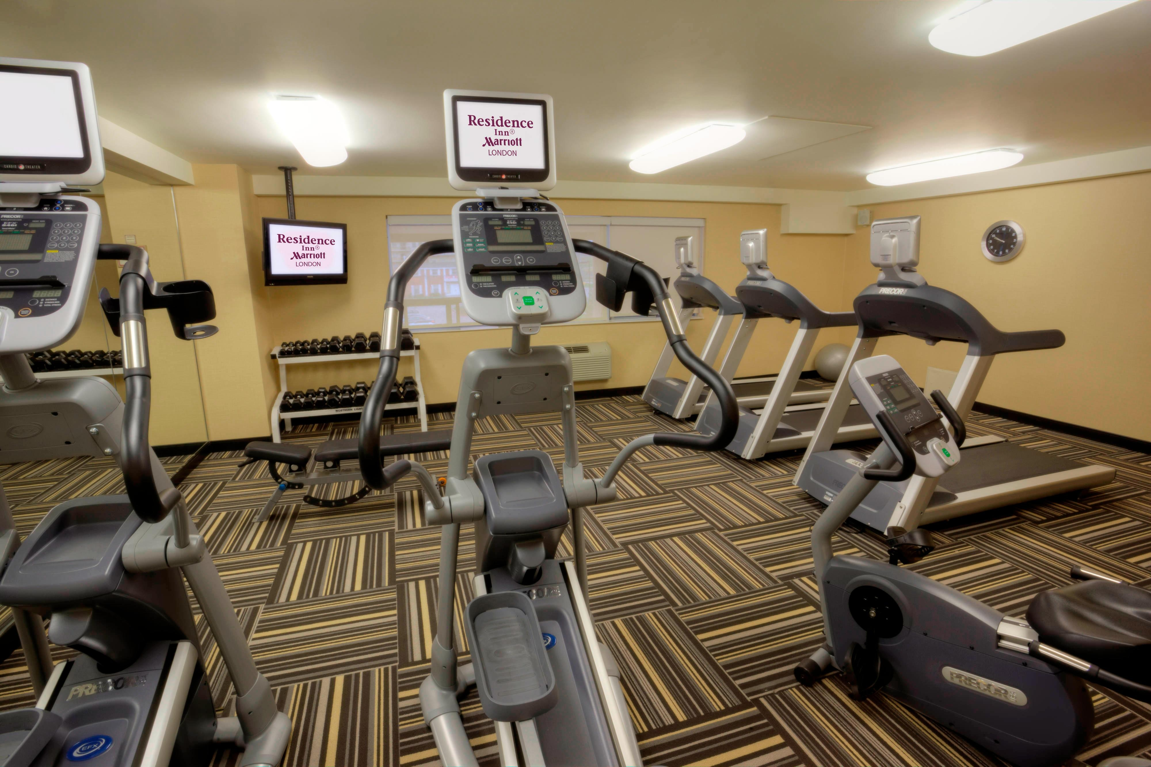 Centre de remise en forme du Residence Inn London