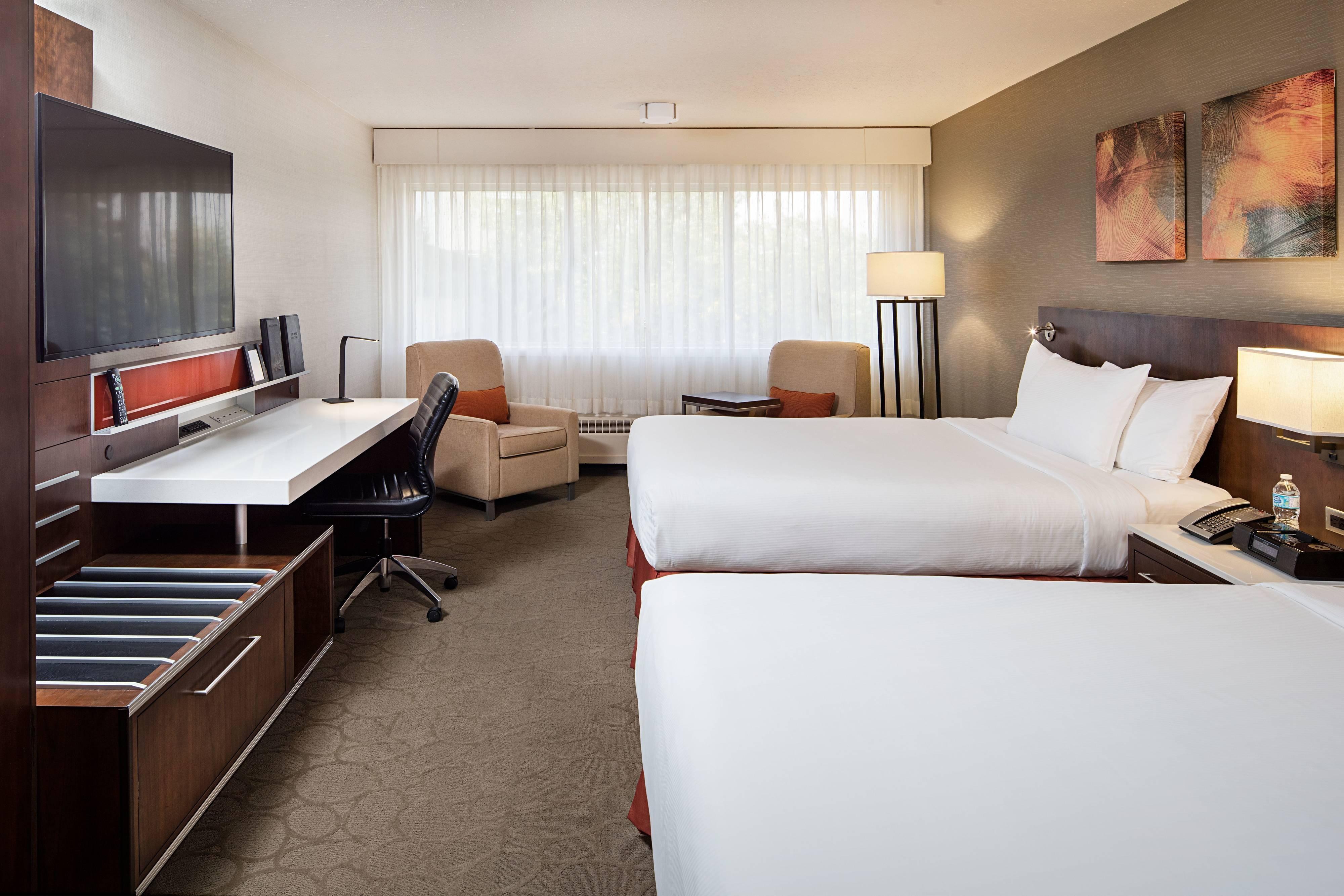 Habitación de lujo Delta con dos camas Queen