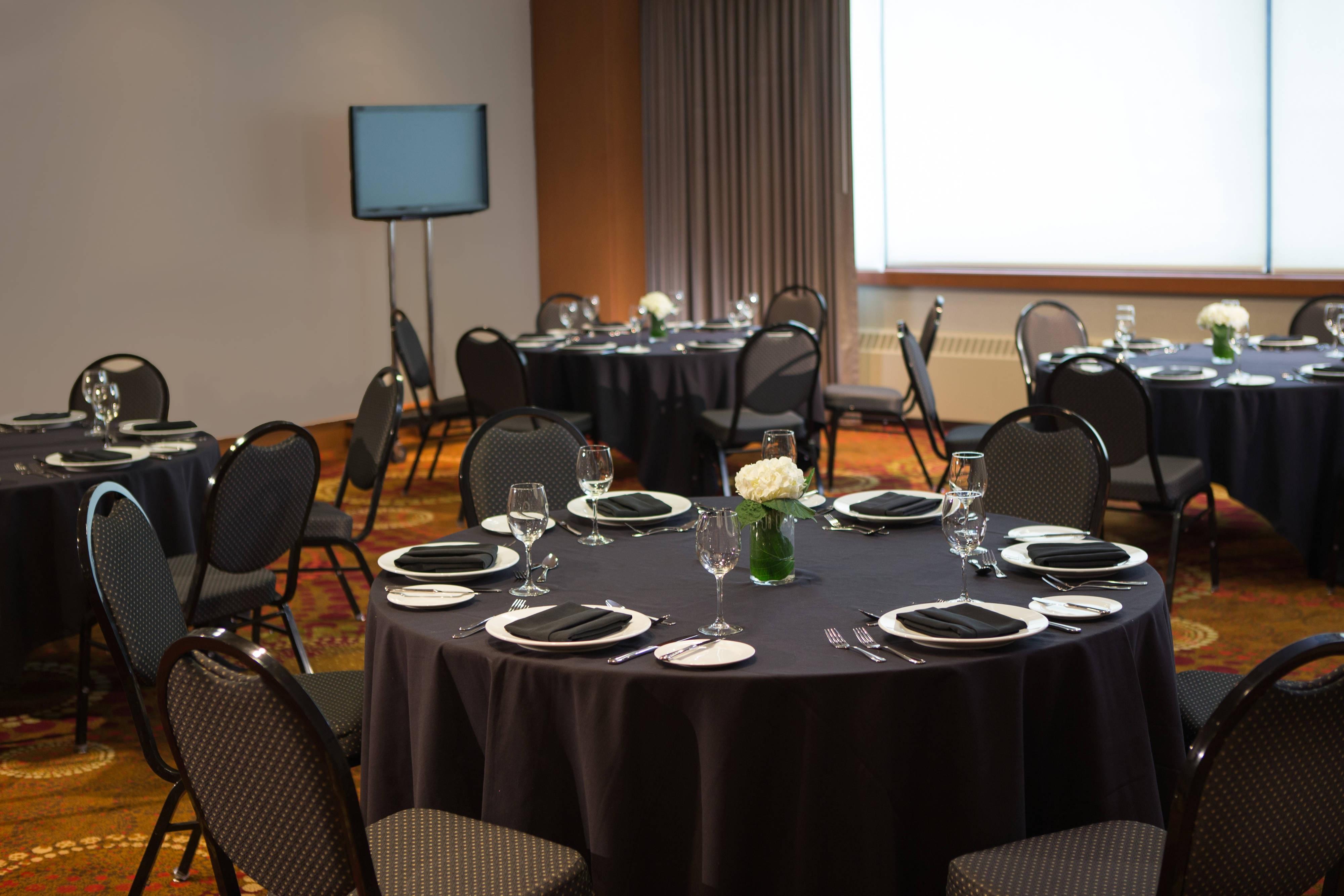 Déjeuner d'affaires à l'hôtel de Calgary