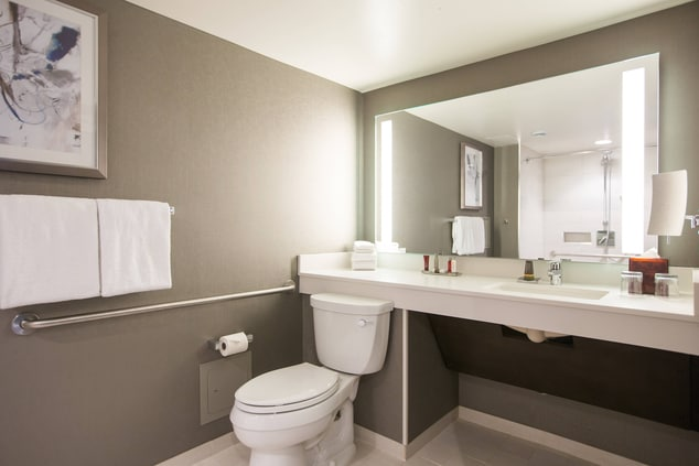 Accessible Guest Room Shower Calgary