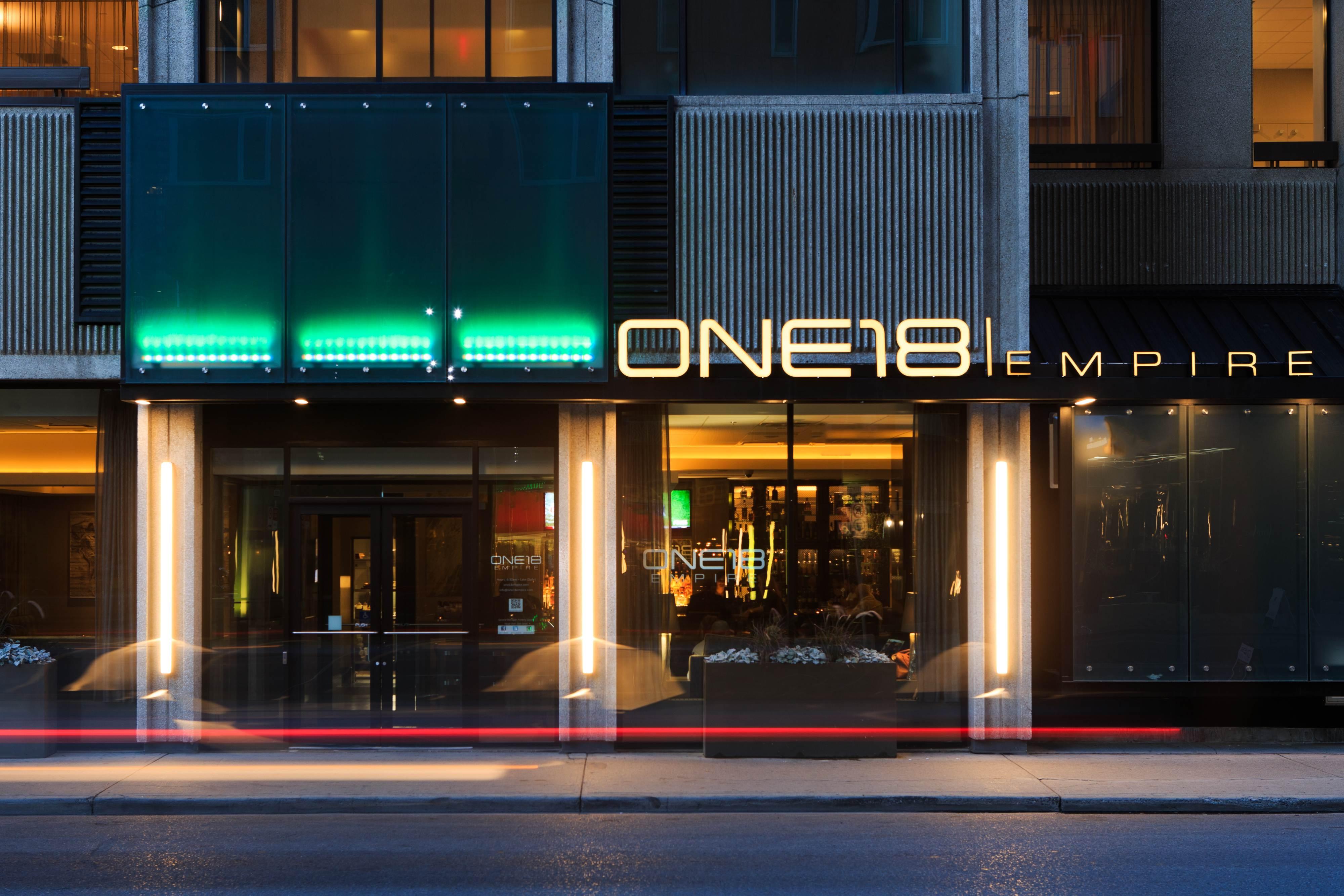 Restaurant dans le centre-ville de Calgary