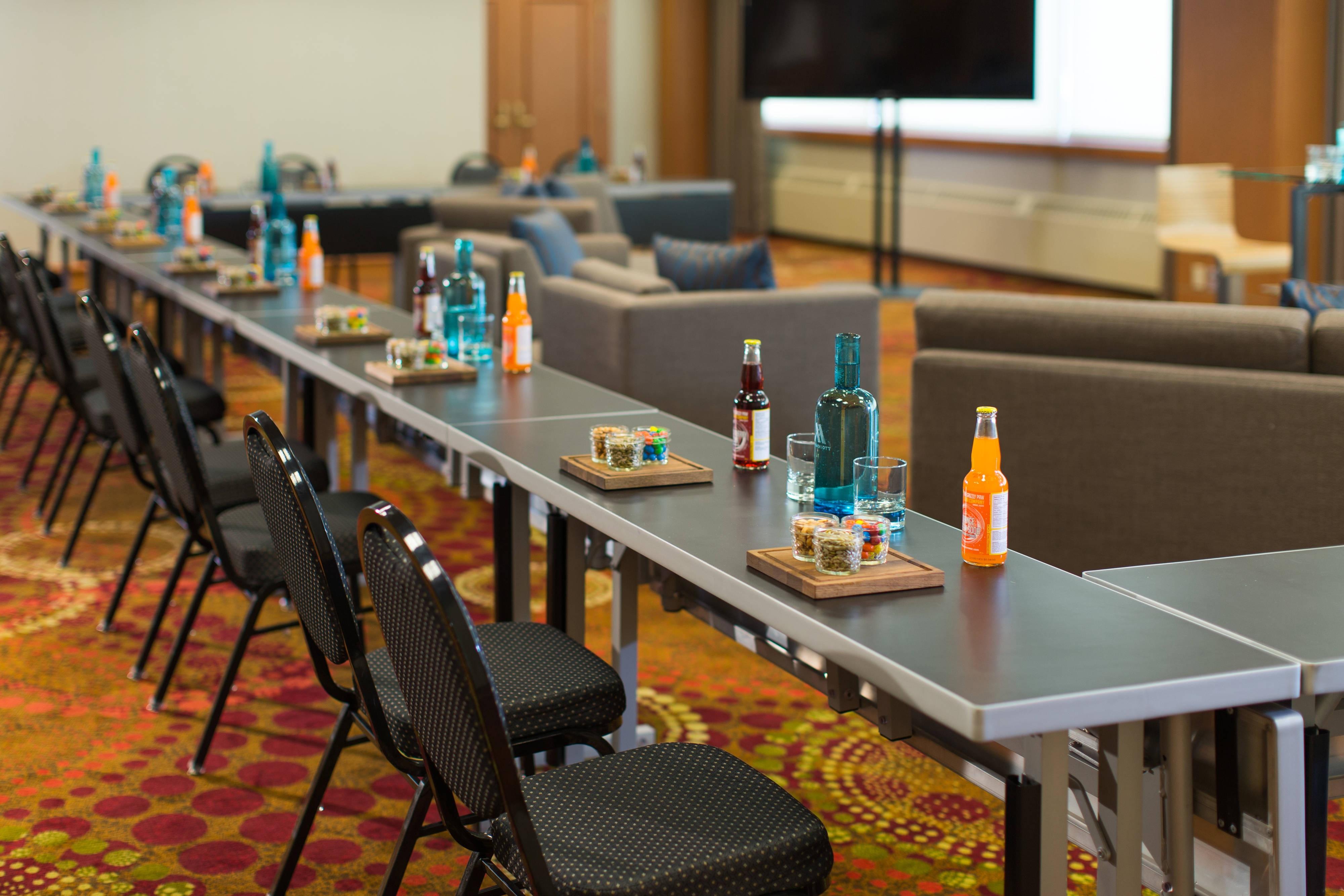 Espace de réunion en U à Calgary