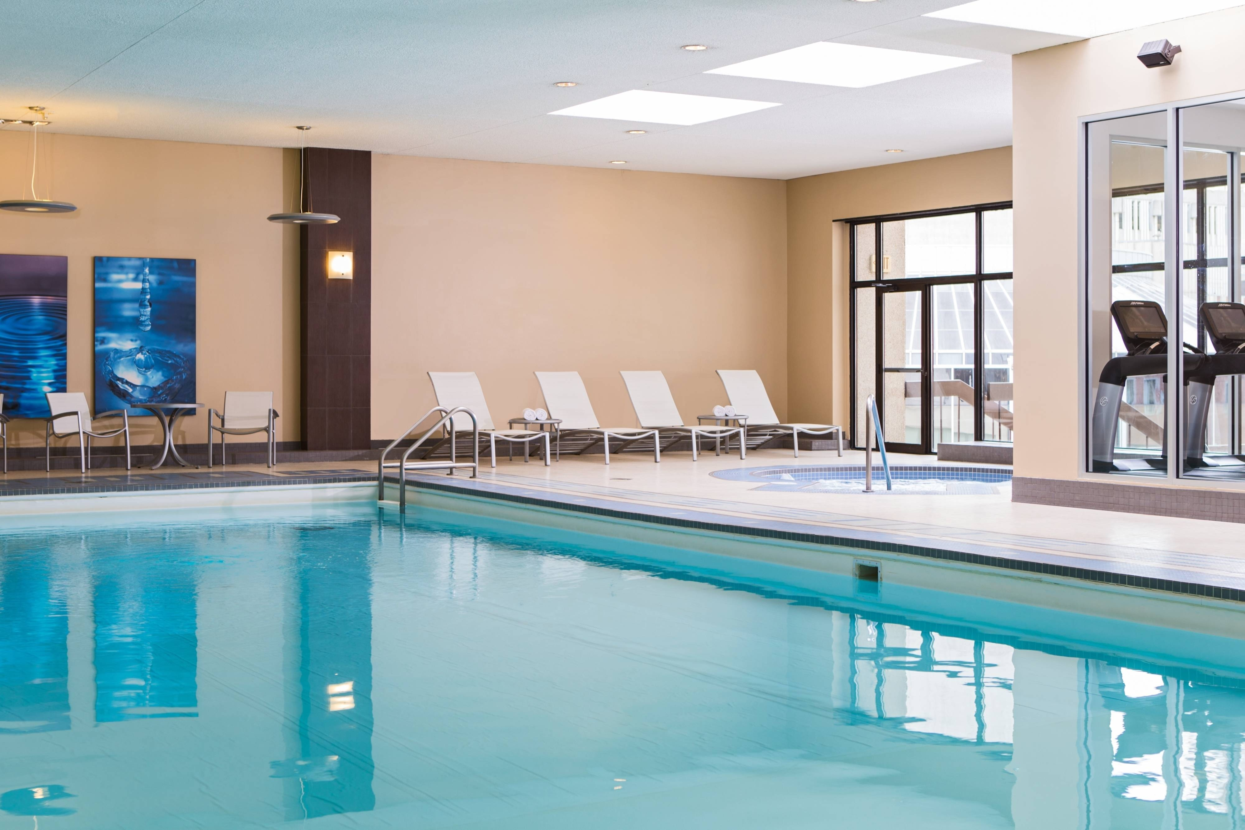 Calgary hotel with indoor pool