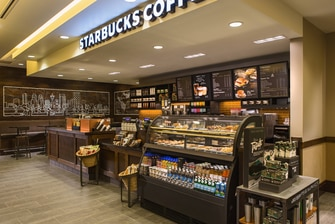 Downtown Calgary hotel with Starbucks