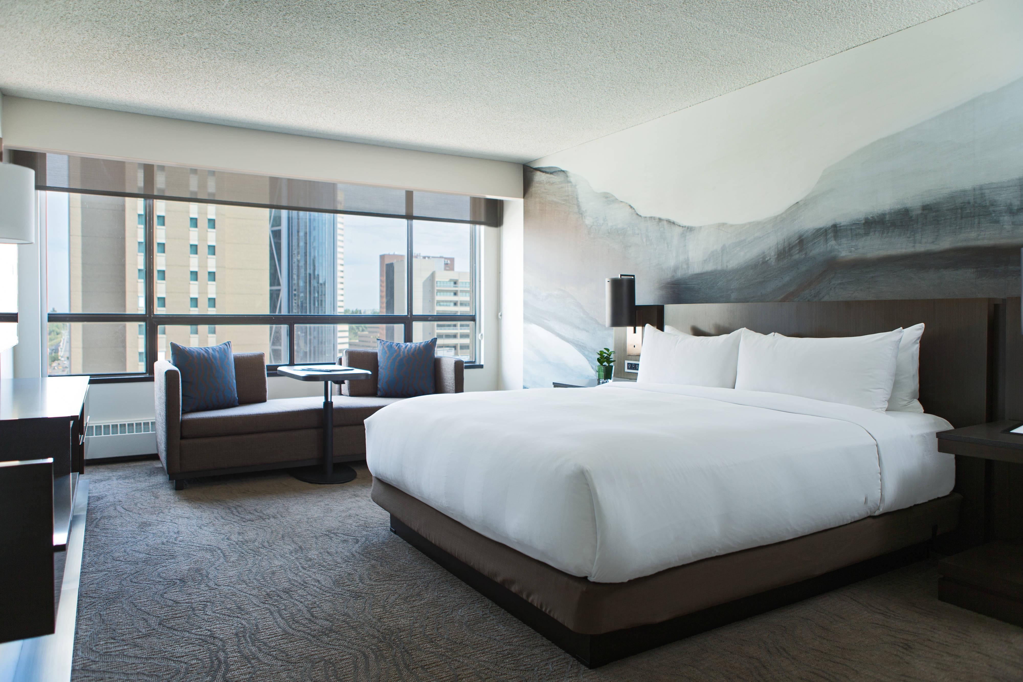 Suite Premier de l'hôtel de Calgary