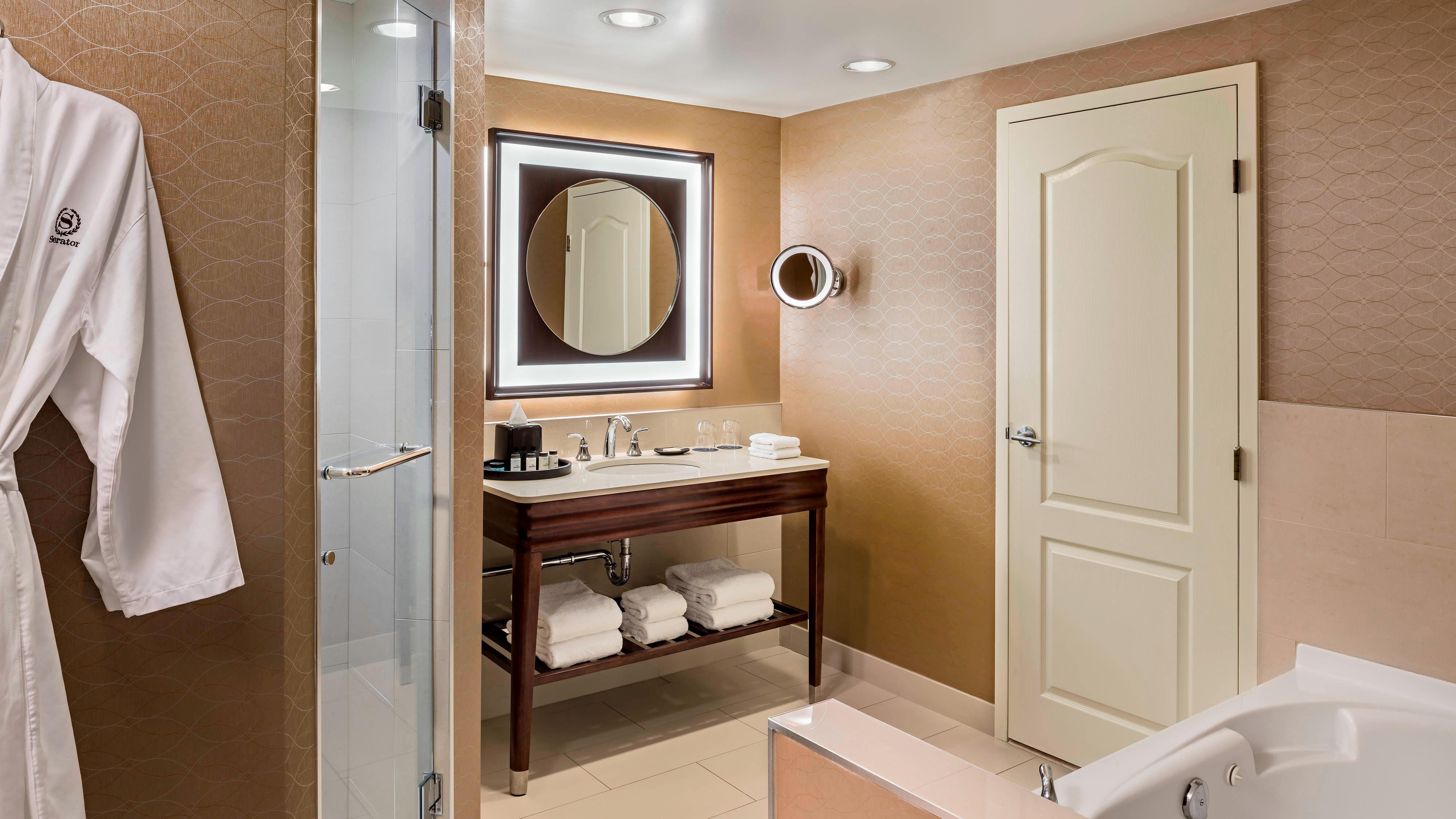 Suite en esquina - Baño