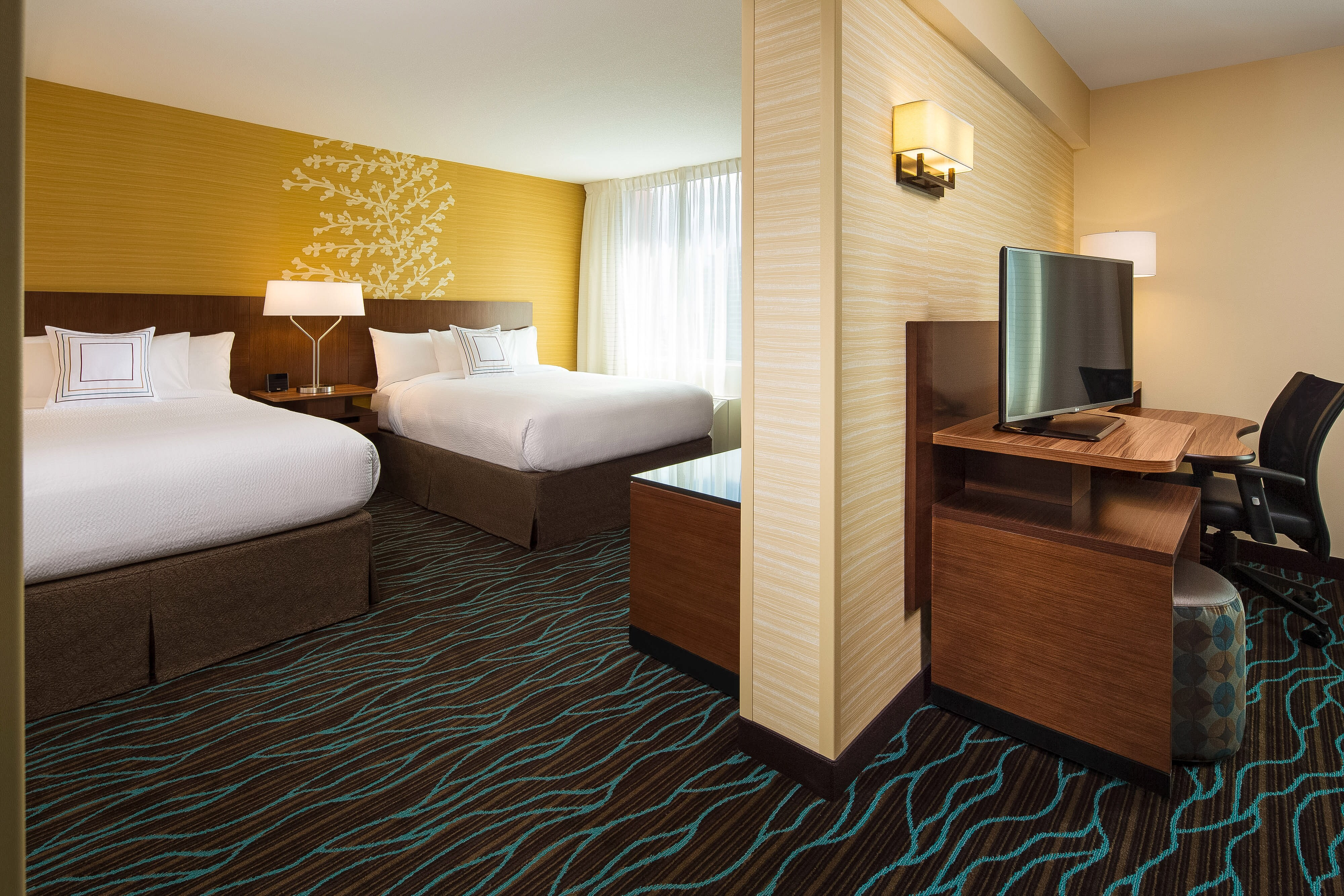 One Bedroom Suite - Sleeping Area