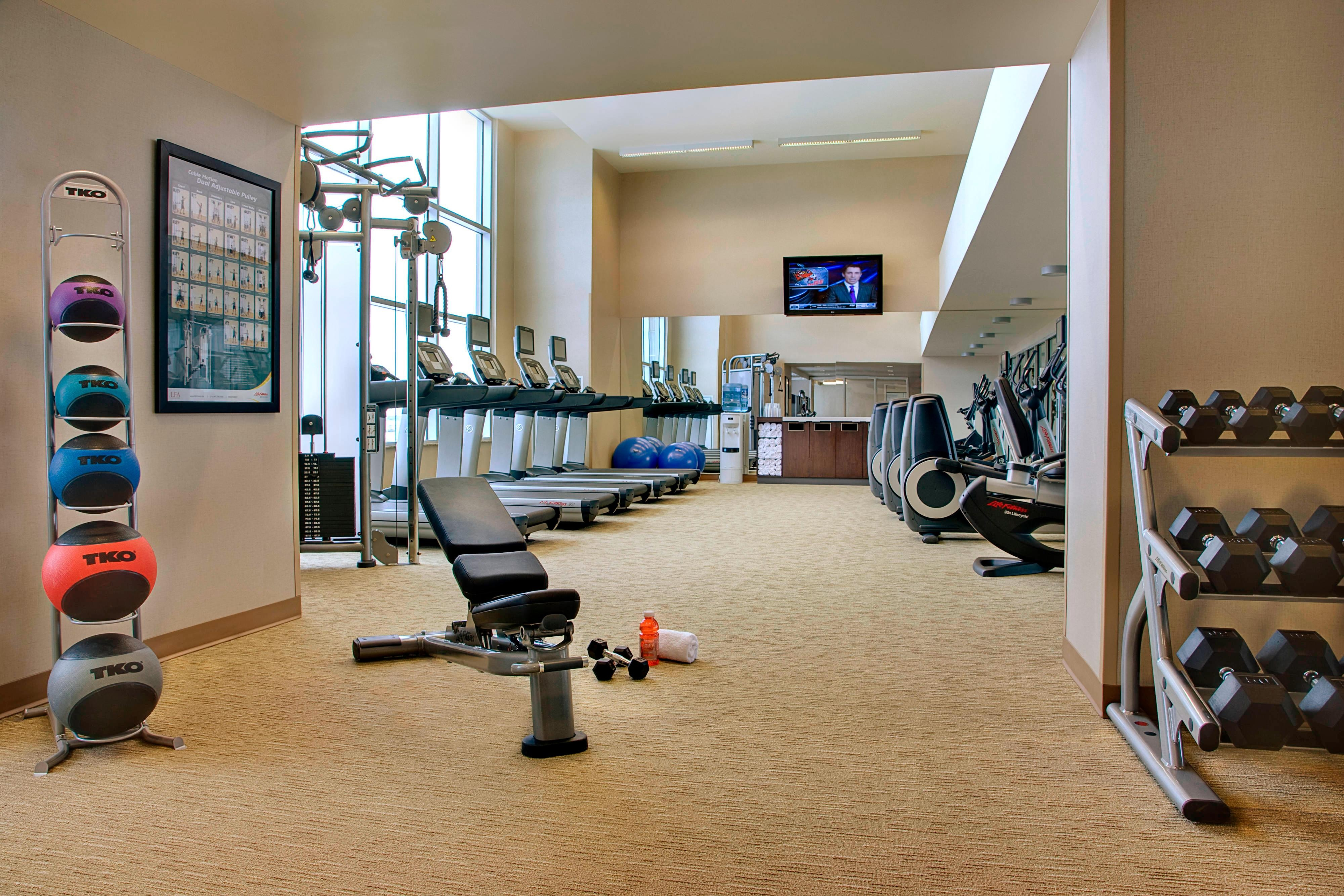 Calgary Airport Hotel Fitness Center