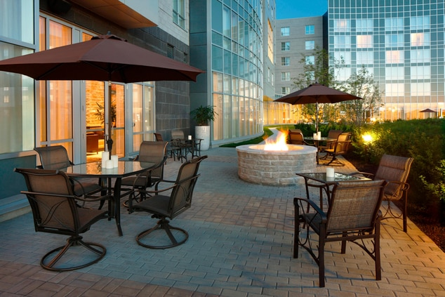 Outdoor Terrace and Fire Pit