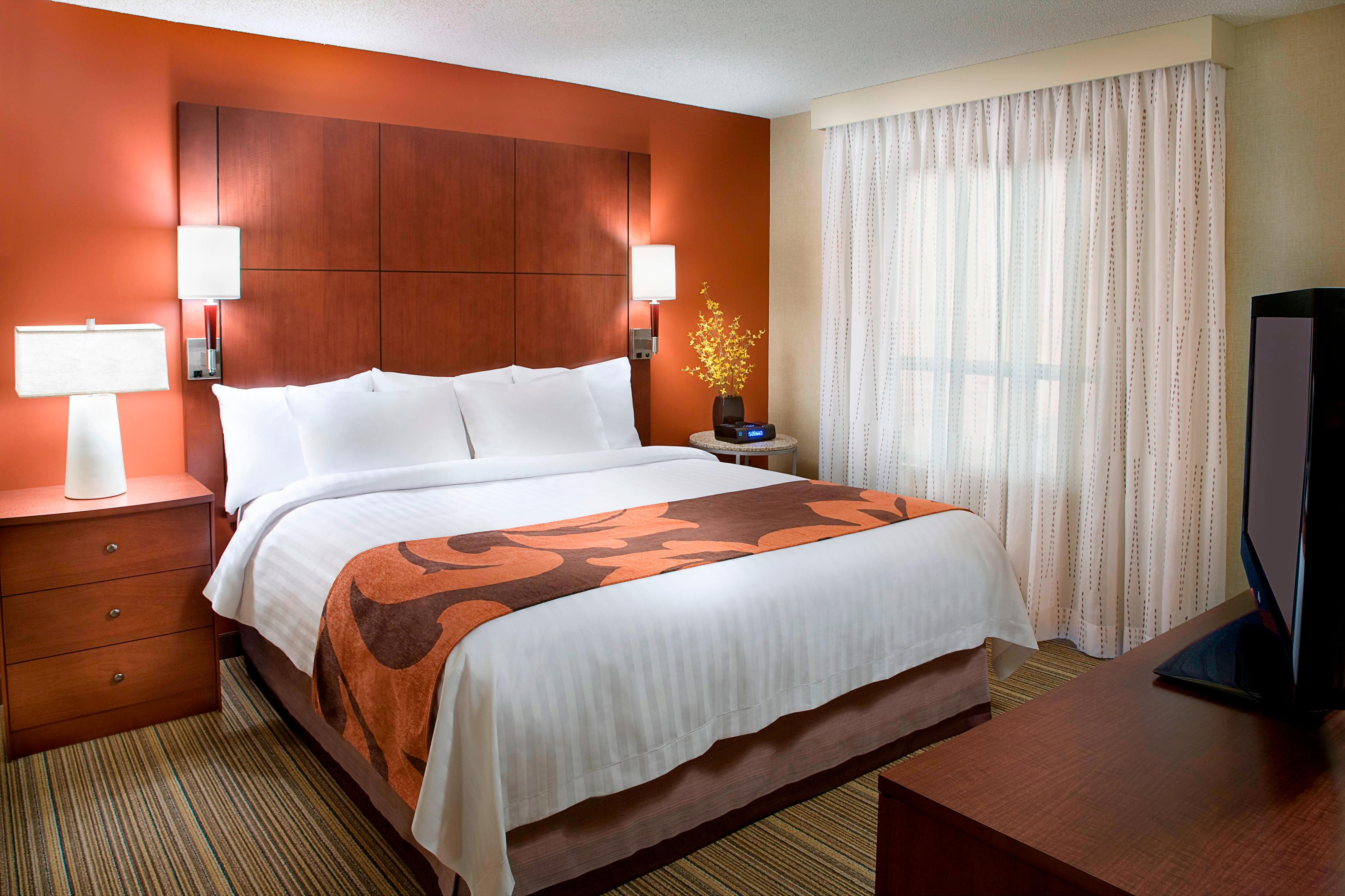 Calgary Airport Hotel Room Bed