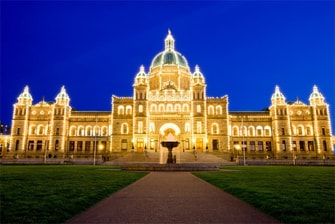 Victoria BC Legislative Building