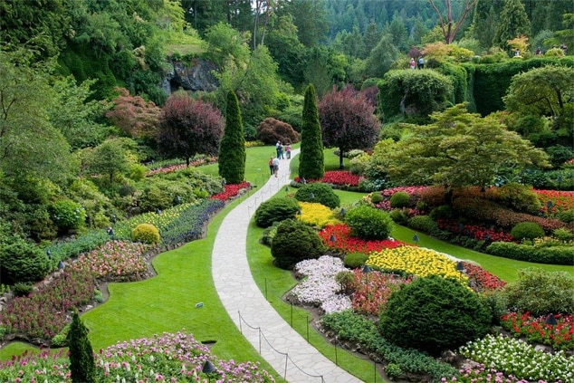 Butchart Gardens Package Victoria BC