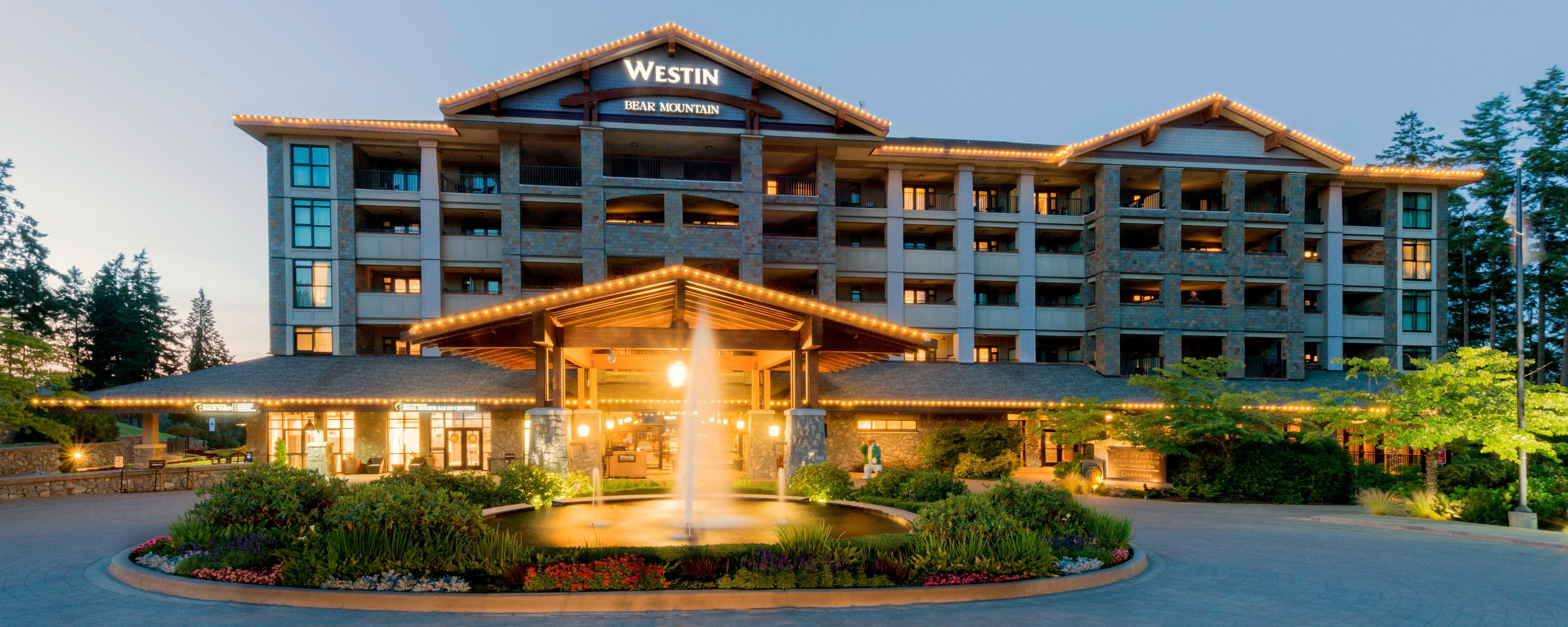 Wellness hotel in victoria the westin bear mountain golf resort